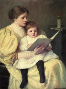 frederick-warren-freer-xx-mother-and-child-reading-xx-montgomery-museum-of-fine-arts